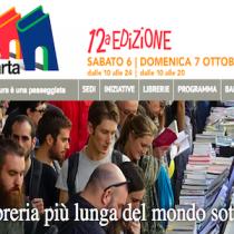 Portici di carta 2018: 2 km di libri a Torino