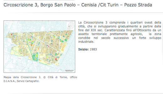 Torino: la Circoscrizione 3 raccontata da scrittori, editori e librai