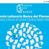 Scrivi Belle Parole, il premio per racconti inediti di Banca del Piemonte