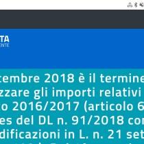 Scuola: scadono il 31 dicembre 2018 gli importi Carta del Docente 2016/2017