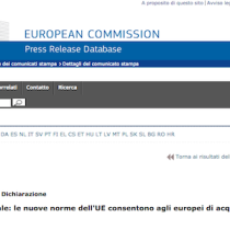 Stop al geoblocking: acquisti online senza limitazioni geografiche in UE