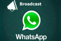 C'è Whatsapp broadcast: usalo per una chat lontana da crisi di nervi