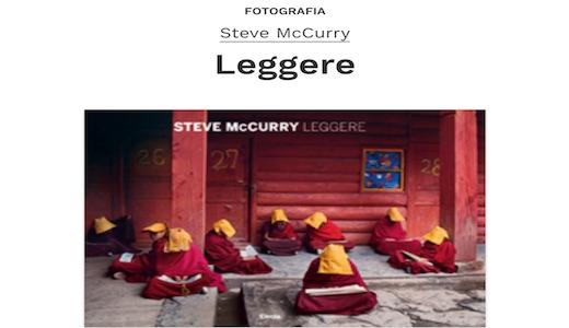 A Torino la mostra 'Steve McCurry. Leggere'