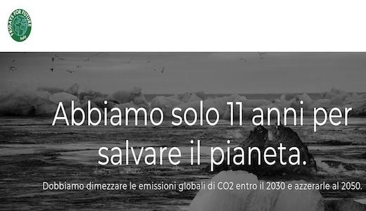 Scuola: sciopero globale per il clima #schoolstrike4climate