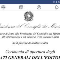 Gli Stati Generali dell'Editoria aprono a Roma il 25 marzo