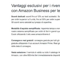 Amazon entra nella distribuzione alle librerie
