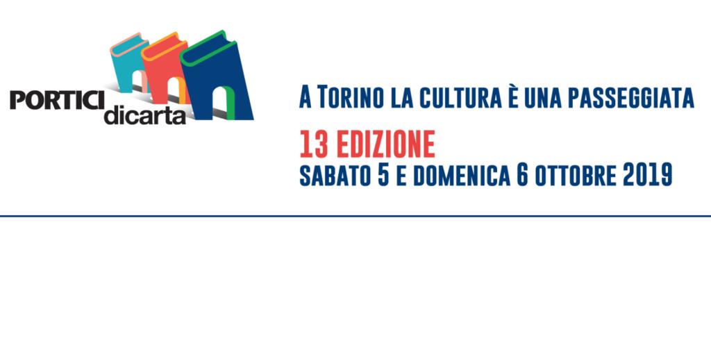 Torino: Portici di Carta il 5 e 6 ottobre 2019