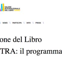 Per maggio 2020 edizione extra-ordinaria del Salone del Libro di Torino