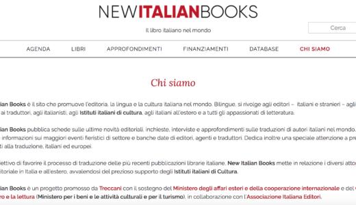 NewItalianBooks per esportare il libro italiano nel mondo