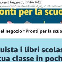 Scuola: prenota online libri di testo e materiali scolastici