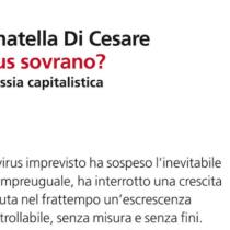 Consigli di saggistica: 'Virus sovrano? L'asfissia capitalistica'