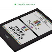 Il colore e-ink Kaleido sull'ereader Onyx Boox Poke 2 Color