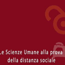 Ebook open access: 'Le scienze umane alla prova della distanza sociale'