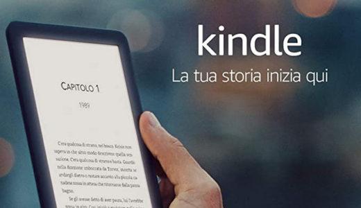 Kindle ereader per il Black Friday a 59,99 euro