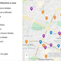 Una mappa digitale degli aiuti all'emergenza alimentare