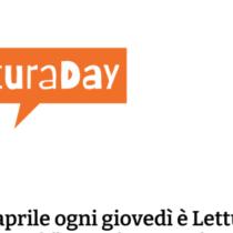 Dal 23 aprile è #LetturaDay ogni giovedì